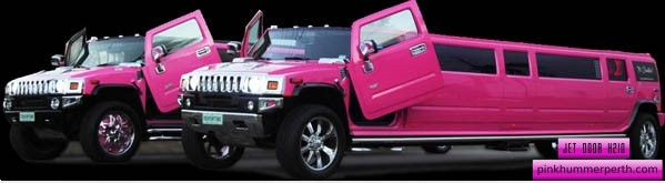 Pink Hummer Perth 16 Seater limo hire. Pink limo hire Perth for Swan Valley Wine Tours and Perth hens night party limousine services.
